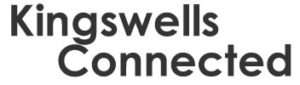 Kingswells Connected text logo