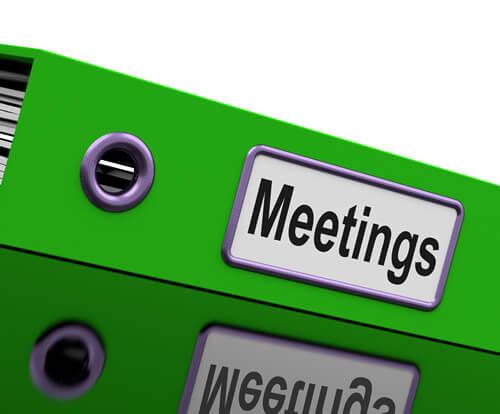 Meetings folder