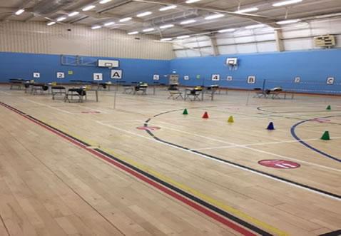 Sports hall image